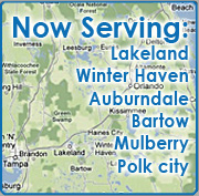 Lakeland Septic Systems service area