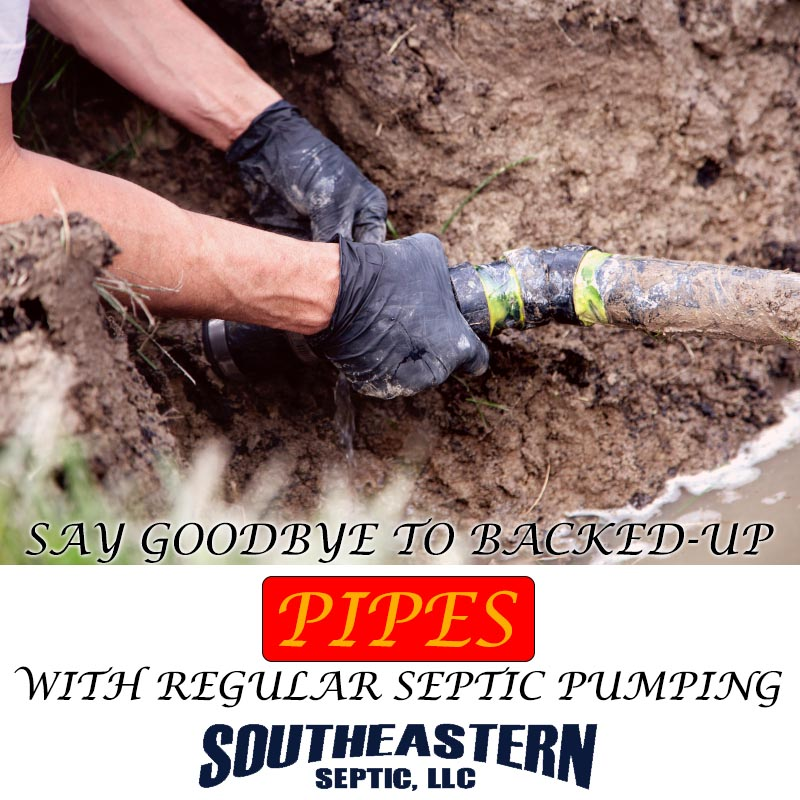 Say Goodbye to Backed-Up Pipes with Regular Septic Pumping